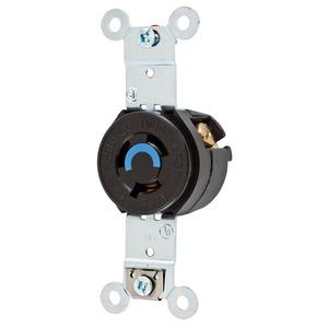 HBL4560 REC T/L 15A 250V SGL   HUBBELL