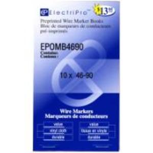 *VP*MB4690 ELECTRIPRO 46-90 WIREMARKR BK